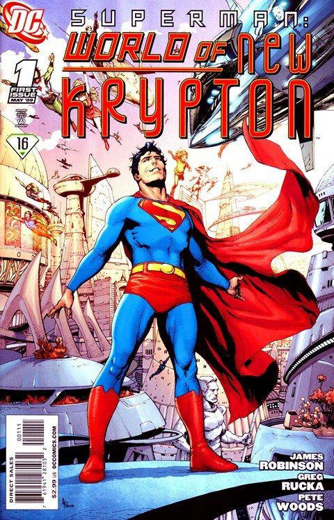 Superman – World of New Krypton #1 – 12