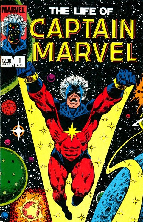 The Life of Captain Marvel #1 – 5 (1985)