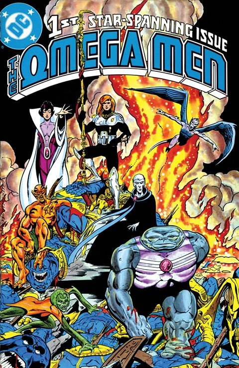 The Omega Men #1 – 38 + Annual #1 – 2