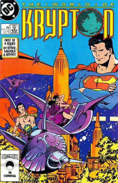 The World of Krypton Vol. 2 #1 – 4