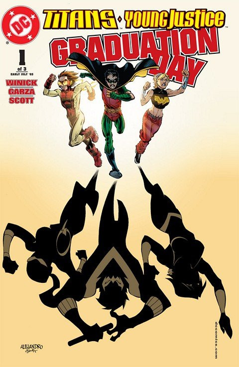Titans-Young Justice – Graduation Day #1 – 3