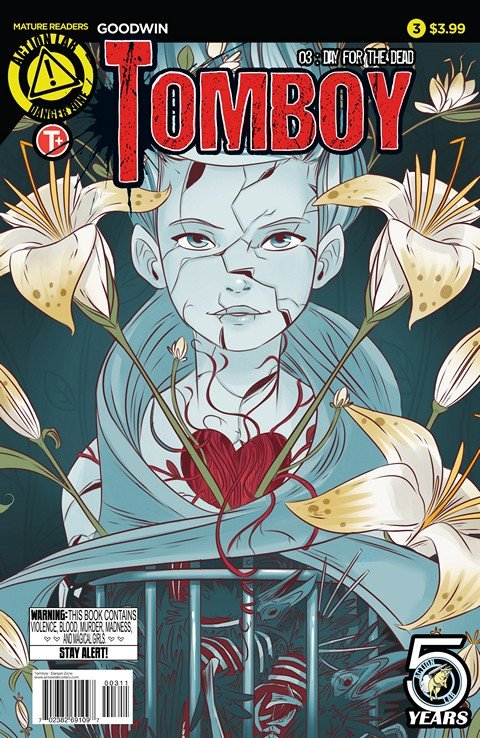 Tomboy #1 – 3 (2015-2016)