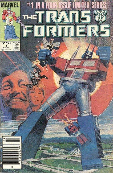 Transformers #1 – 80 (Marvel Comics)