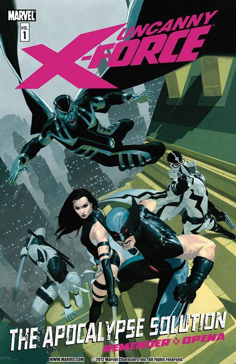 Uncanny X-Force Vol. 1 – 7 (TPB) (Collection)
