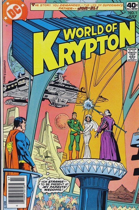 World of Krypton Vol. 1 #1 – 3