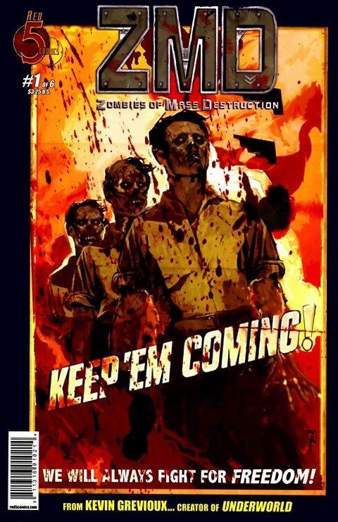 ZMD – Zombies of Mass Destruction #1 – 6