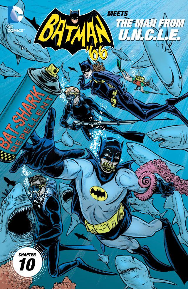 Batman '66 Meets the Man From U.N.C.L.E. #10