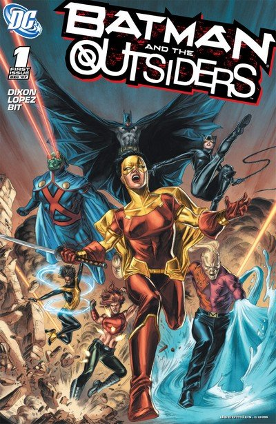 Batman and the Outsiders + The Outsiders #1 – 40 (2007-2011)