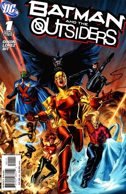 Batman and the Outsiders + The Outsiders #1 – 40