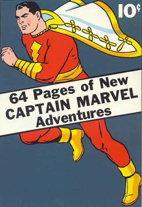 Captain Marvel Adventures #1 – 150 (1941-1953)