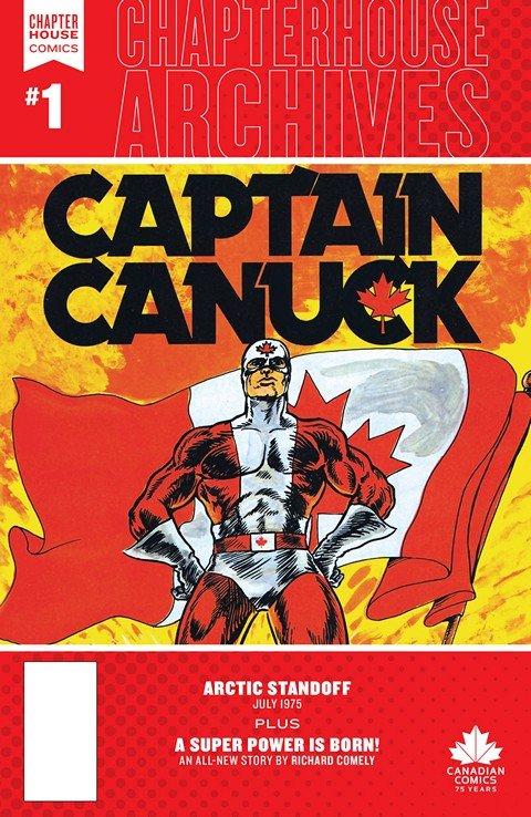 Chapterhouse Archives – Captain Canuck #1 (2016)