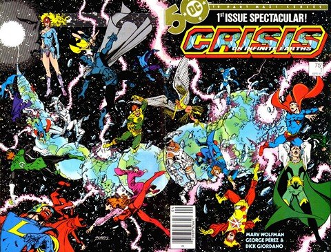 Crisis on Infinite Earths #1 – 12 + Crossover + Extras