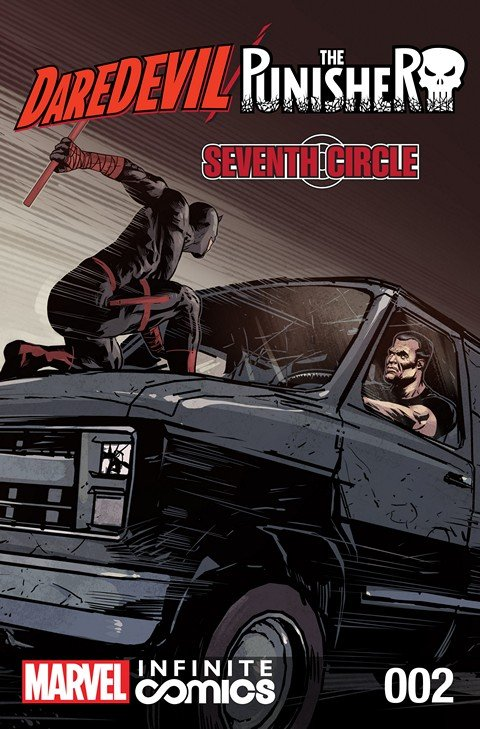 Daredevil – Punisher – Seventh Circle Infinite Comic #2