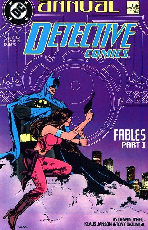 Detective Comics Annuals #1 – 12 (1988-2011)