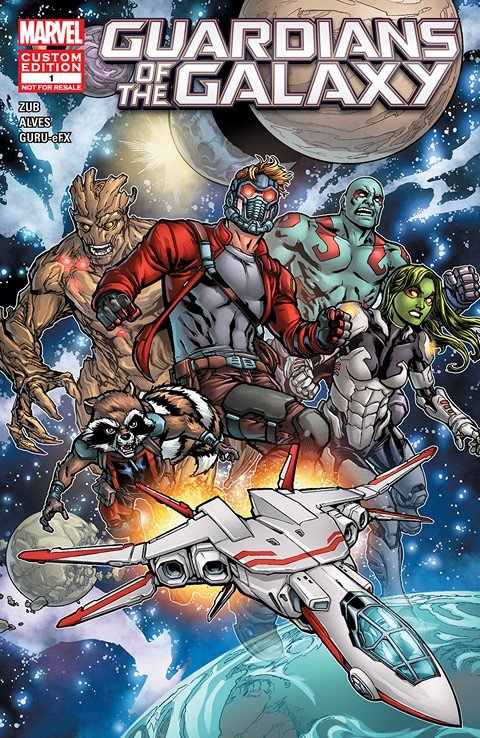 Guardians of the Galaxy – Child Life #1