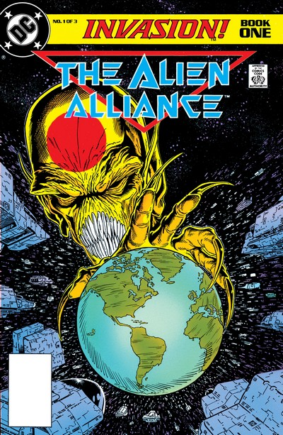 Invasion! #1 – 3 + Daily Planet Special (1989)