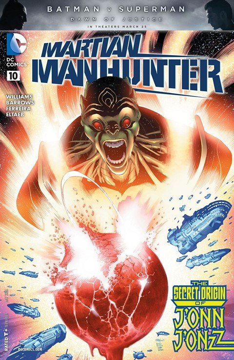 Martian Manhunter #10