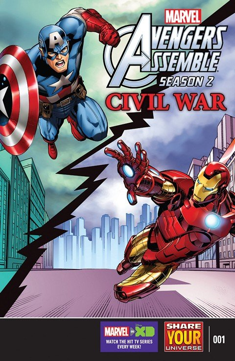Marvel Universe Avengers Assemble – Civil War #1