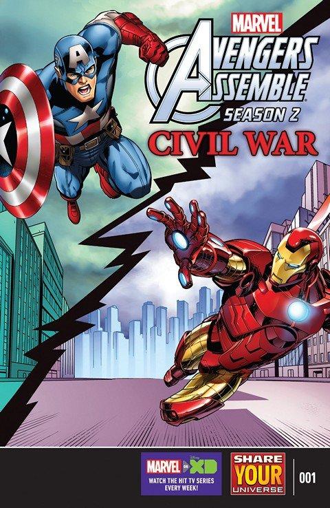 Marvel Universe Avengers Assemble – Civil War #1