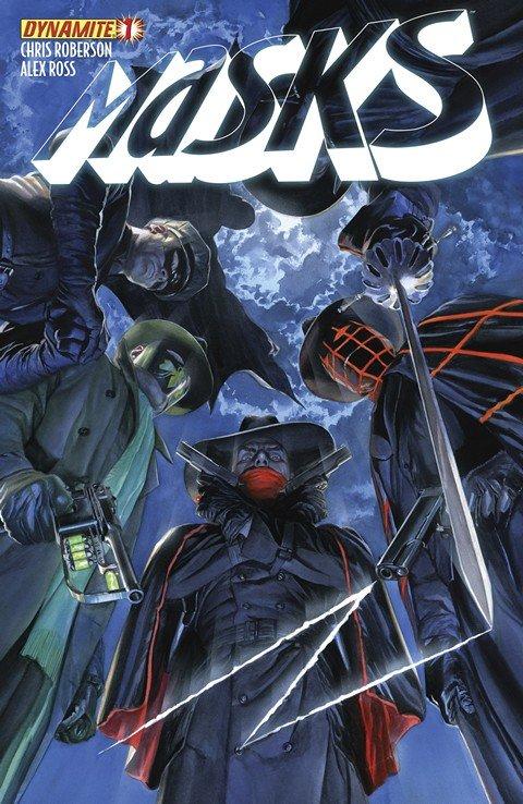 Masks #1 – 8