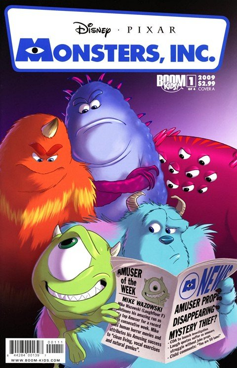 Monsters, Inc. – Laugh Factory #1 – 4