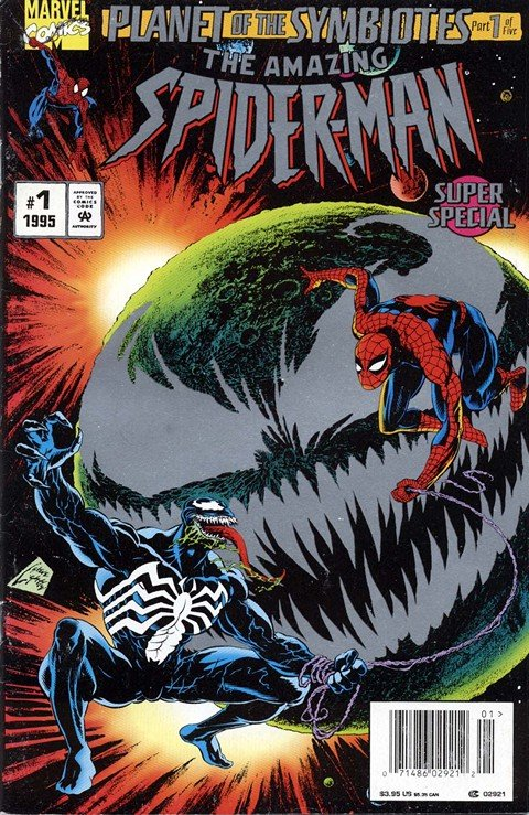 Planet of the Symbiotes #1 – 5