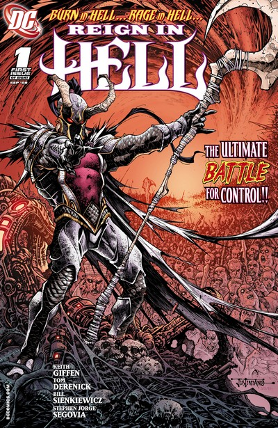 Reign In Hell #1 – 8 (2008-2009)