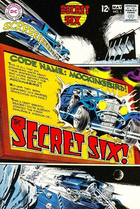 Secret Six Vol. 1 – 4 + TPBs (1968-2016) (Collection)