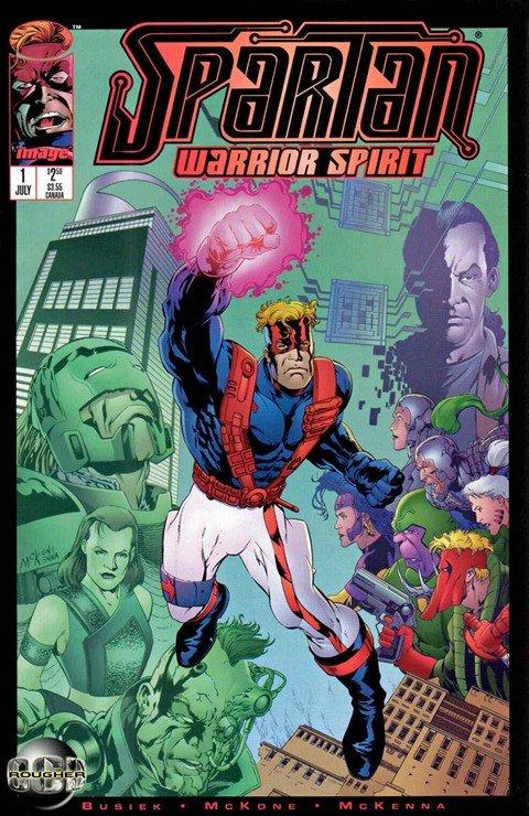 Spartan – Warrior Spirit #1 – 4 (1995)