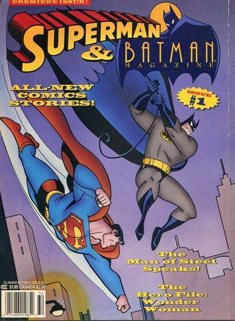 Superman & Batman Magazine #1 – 8