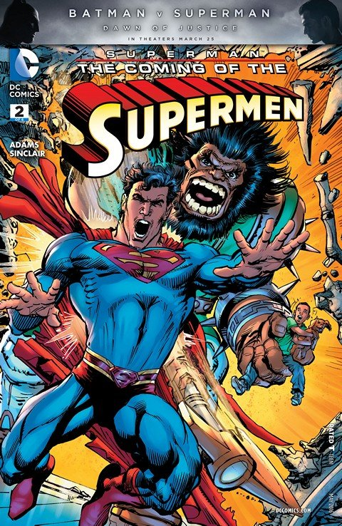 Superman – The Coming of the Supermen #2