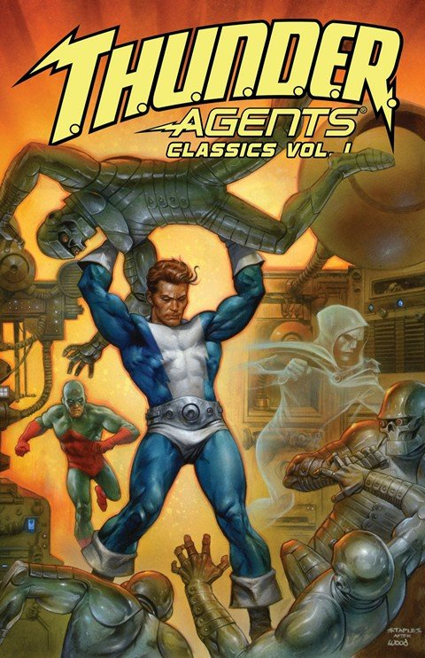 T.H.U.N.D.E.R. Agents Classics Vol. 1 – 6 (2013-2015)