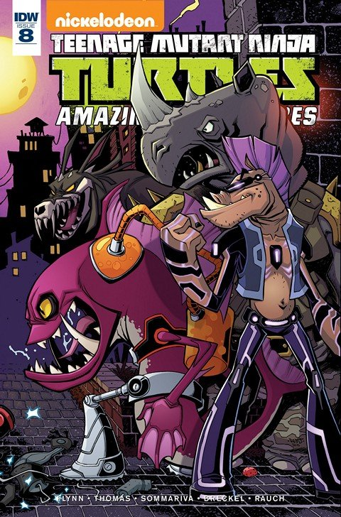 Teenage Mutant Ninja Turtles – Amazing Adventures #7 – 8