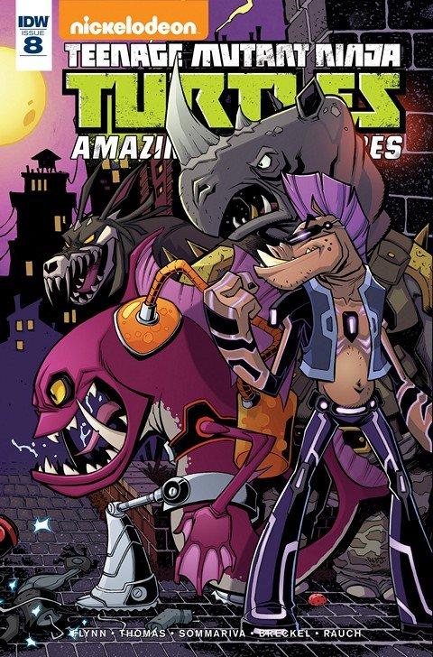 Teenage Mutant Ninja Turtles – Amazing Adventures #7 – 8