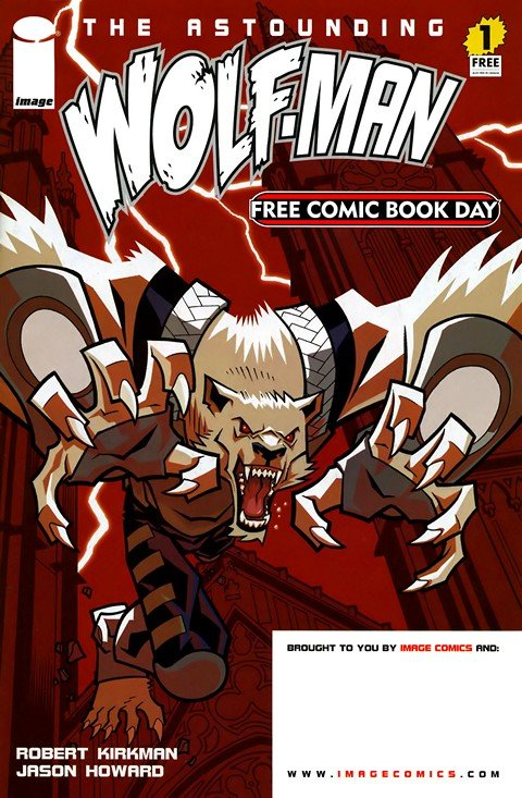 The Astounding Wolf-Man #1 – 25