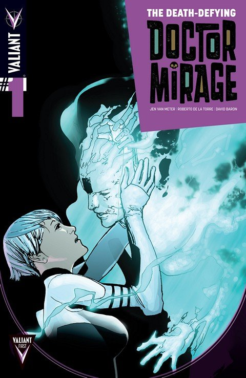 The Death-Defying Doctor Mirage #1 – 5 + TPB