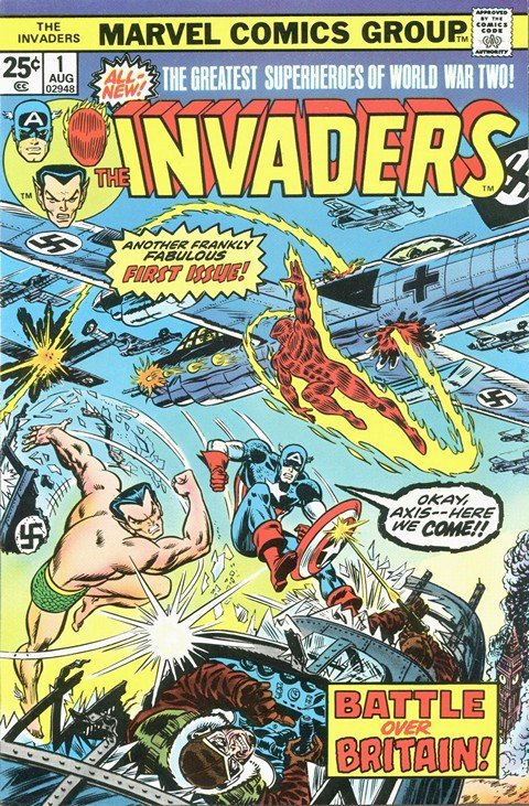 The Invaders Vol. 1 #1 – 41 + Annual
