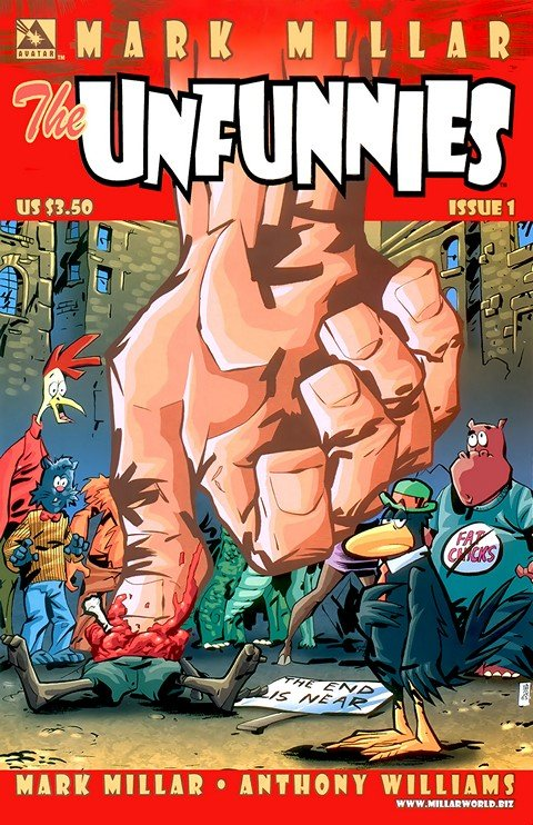 The Unfunnies #1 – 4