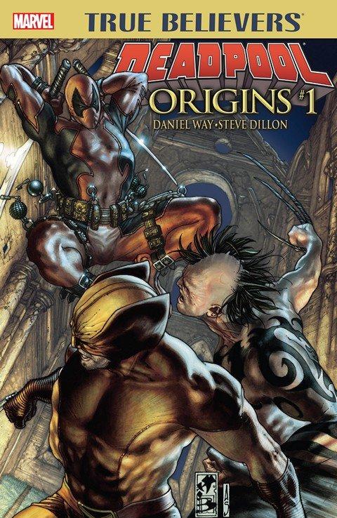 True Believers – Deadpool Origins #1