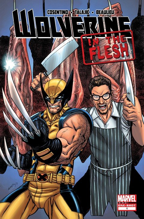 Wolverine – In The Flesh #1