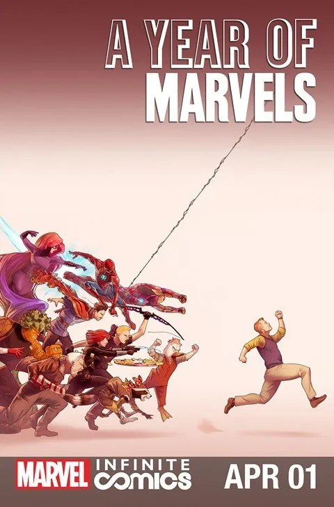 A Year of Marvels – April Infinite Comic #1