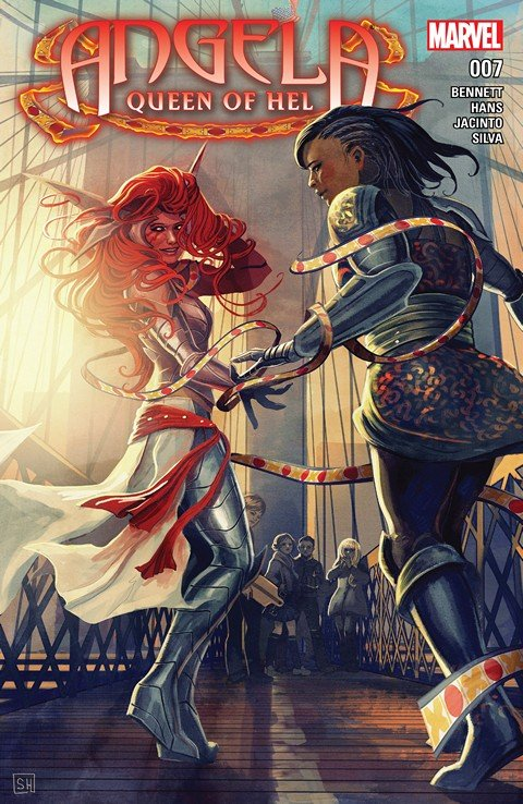 Angela – Queen of Hel #7