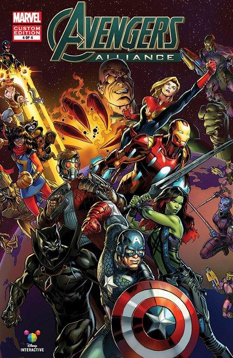 Avengers Alliance #1 – 4
