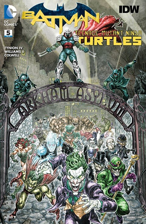 Batman – Teenage Mutant Ninja Turtles #5
