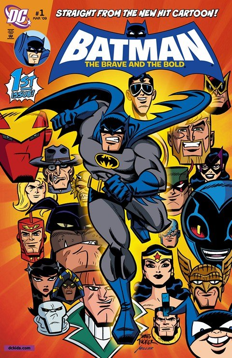 Batman – The Brave and the Bold Vol. 1 #1 – 22
