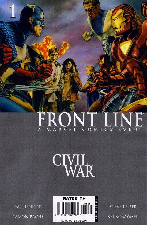 Civil War – Front Line #1 – 11