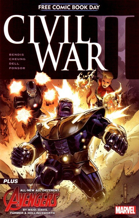 Civil War II FCBD (2016)