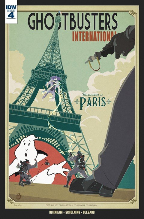 Ghostbusters International #4