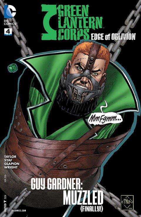 Green Lantern Corps – Edge of Oblivion #4