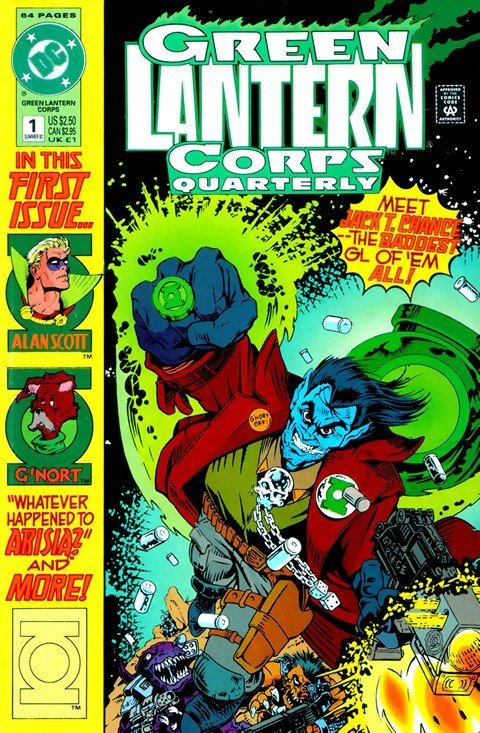 Green Lantern Corps Quarterly #1 – 8
